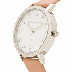 Accessories - NWT Christian Paul Leather & Crystal Watch